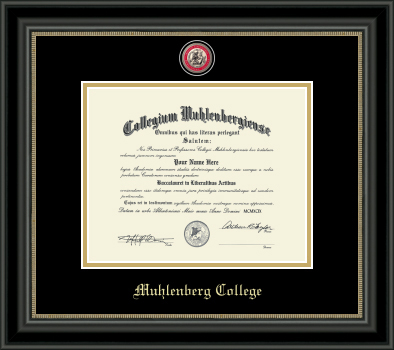Image For Masterpiece Noir Diploma Frame