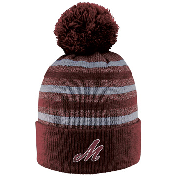 Image For Beanie with Pom