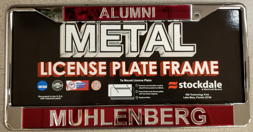 Image For License Plate Frame Alumni