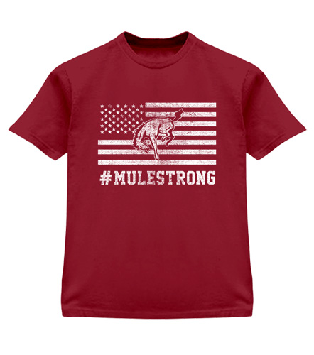 Image For Mule Strong  Tee