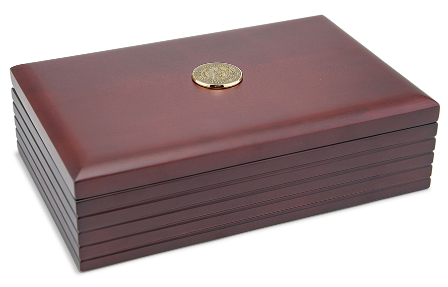 Image For Desk Box with Medallion by CSI