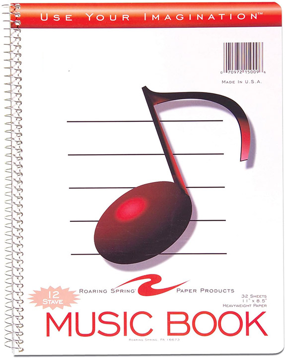 Image For Music Book/Spiral