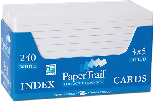 Image For Index Cards
