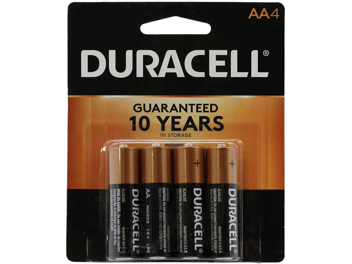 Image For Duracell AA Batteries