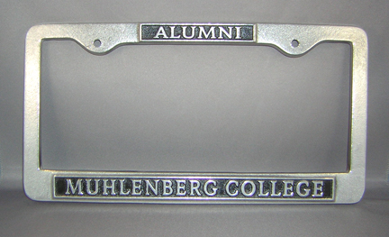 Image For License Plate Frame - Alumni