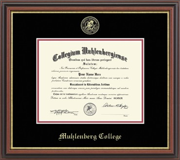 "Image For Embossed ""Regency Gold"" Diploma Frame"