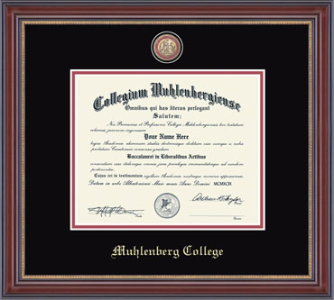 Image For Masterpiece Medallion Diploma Frame
