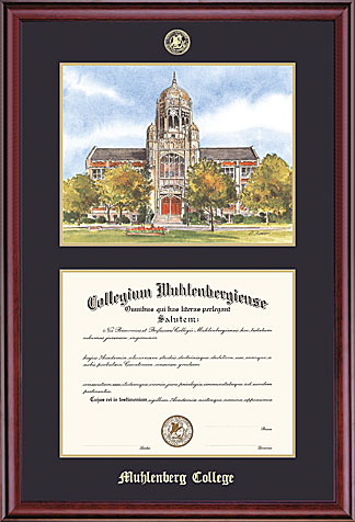 Image For Classic Combo Diploma Frame