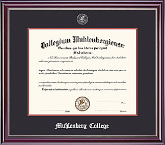Image For Jefferson Diploma Frame