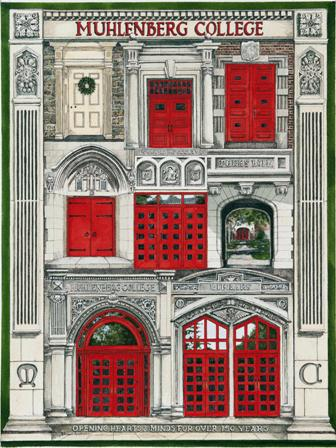 Image For Doors of Muhlenberg Lithograph